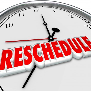 Rescheduling Revisited: Can Your App Do That?